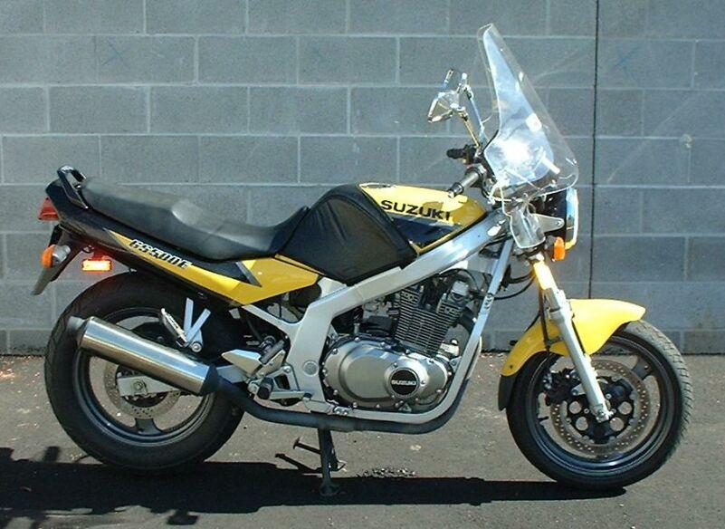 National Cycle Plexistar Ii Windshield On 1999 Suzuki Gs500e
