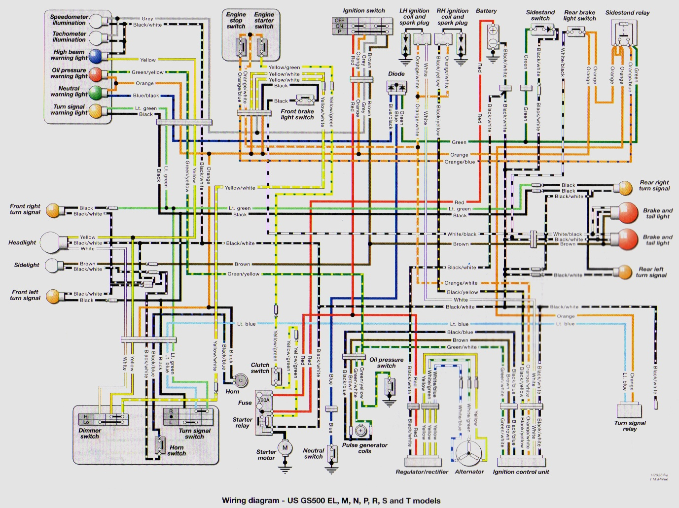 Suzuki Gs500 Wiring Diagram Suzuki Gs500f Wiring Diagram - Wiring ...