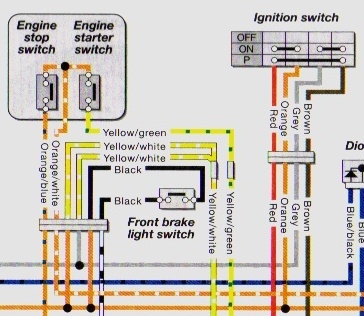 haynes wiring diagram key schematics and wiring diagrams honda cd175 wiring diagram